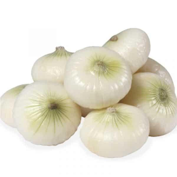 Cipolle bianche piatte